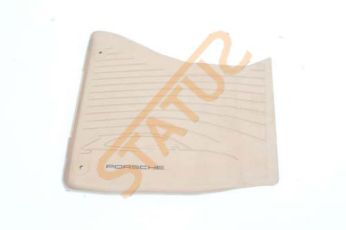 Porsche Macan 95B RHD OS Right Front Rubber Winter Floor Mat Beige