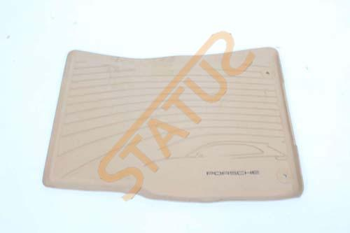 Porsche Macan 95B RHD NS Left Front Rubber Winter Floor Mat Beige