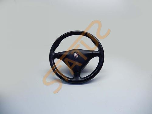 Porsche 911 993 996 Boxster 986 Leather 3 Spoke Steering Wheel