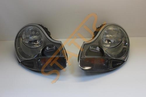 Porsche 911 996 Boxster 986 Pair Clear Headlight Upgrade