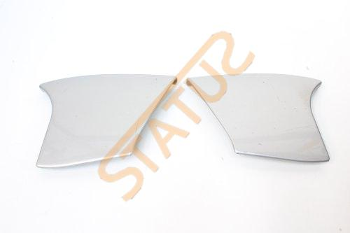 Porsche Boxster 986 Silver Centre Console Side Piece Trim Pair