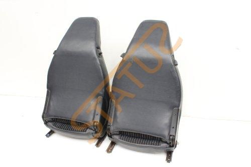 Porsche 924 944 Blue Navy Pinstripe Seats Interior Front and Rears