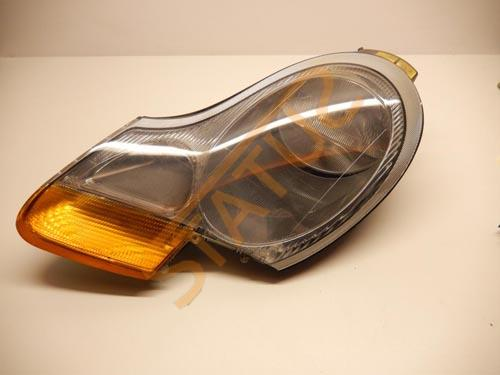 Porsche 911 996 Boxster 986 NS Left Headlight with Fog Lamp Amber
