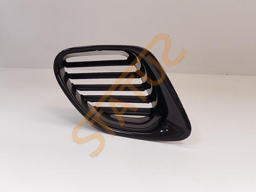 Porsche Boxster 986 OS Right Engine Air Vent Grill In Black