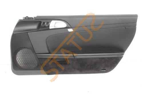 Porsche 911 997 Boxster 987 OS Right RHD Black Leatherette Door Card