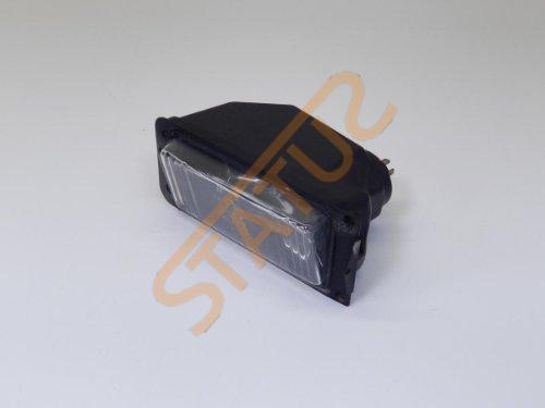 Porsche 924 944 Front OS Right Fog Light Lamp Assembly Plastic