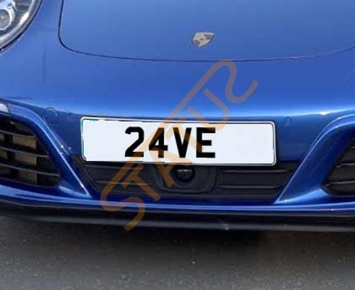 Cherished Number Reg Plate 24 VE Dave David Rave V E
