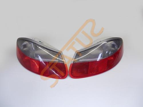 Porsche Boxster 986 Genuine Clear Rear Light Tail Lamp Clusters Pair