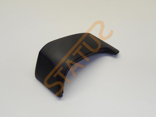 Porsche 911 997 Black Leather Glovebox Side Trim
