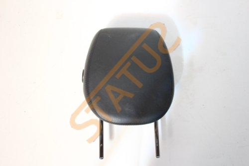 Porsche Cayenne 955 957 Front OS Right Black Leather Headrest