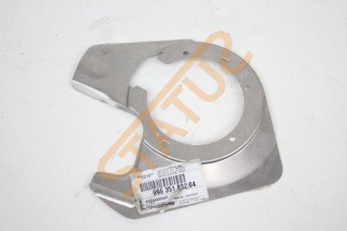 Porsche 911 996 Boxster 986 OS Right Hub Shield Cover Plate