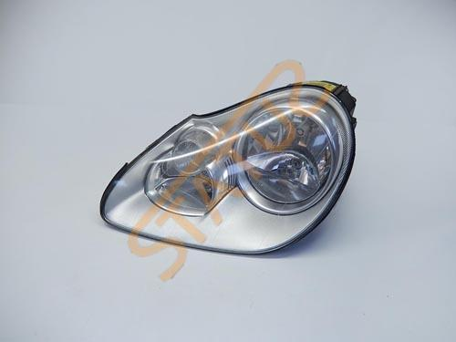 Porsche Cayenne 955 NS Left Front Halogen Headlight Unit Cloudy